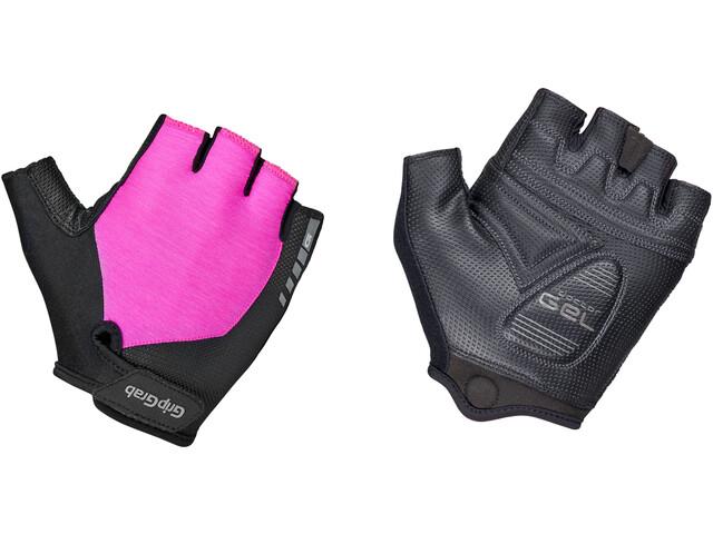 GripGrab ProGel Padded Short Finger Gloves pink